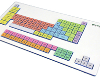 Alan tung on behance periodic table keyboard urtaz Choice Image