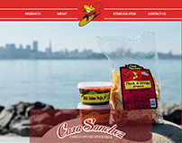 Casa Sanchez website redesign