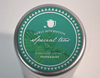 Early Afternoon : Special Teas