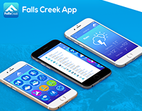 Falls Creek App | Concept Design