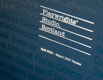 Playwrights Studio Scotland Tri-Annual Report