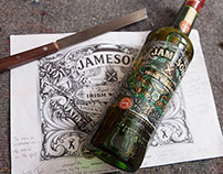 Made for Jameson Whiskey to celebrate St Patrick's day