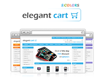 Elegant Opencart Theme in 8 Colors