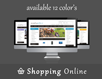Shopping Online Opencart 1.5 Theme in 12 Colors