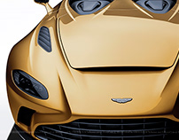 2020 Aston Martin V12 Speedster Gold