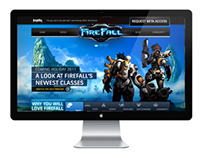 FIREFALL GAME WEBSITE