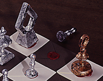 Envelope Chess Set