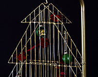 Bird Cage Christmas Tree