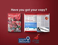 Magazine & Social Media Material
