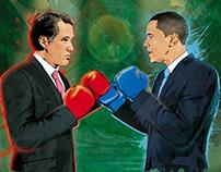 Obama Vs Romney-Face Off Fund Strategy magazine