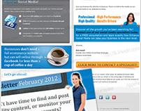 Elegant HTML Email Newsletter Template
