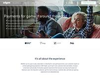 Adyen gaming page