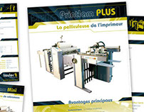 Fichas de productos maquínas de impresión