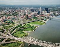 Louisville Waterfront Park, Louisville, Kentucky