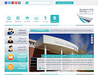 Academic City School WebSite