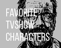 My Favorite TVSeries Fiction Characters