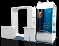 "Booth design for ""Bayer"""