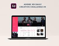 XD Daily Creative Challenge #4