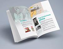 Les ailes de Bona, projet magazine illustré