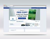 """""""Clickable"""" Facebook cover photo design"""