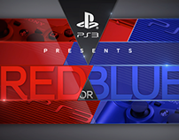 Playstation Red or Blue