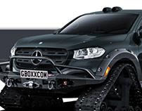 Mercedes-Benz X-Class Tracks