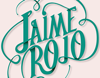 Jaime Rojo Typography Process