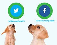Pawtini Social Media Email