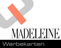 Werbepostkarten für MADELEINE 2001-2003