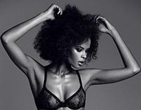 Zaina Gohou Lingerie Shoot // model video
