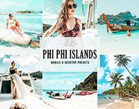 Free Phi Phi Islands Mobile & Desktop Lightroom Presets