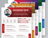Resume Templates Free PSD