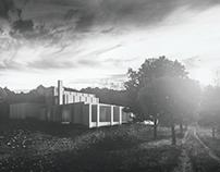 Louis Kahn, Morris House ( unbuilt )