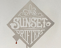 Sunset Drifters Poster