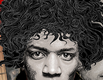 Jimi Hendrix: Voodoo Child Illustration