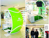 Armado Stand Lacoste
