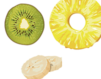 Various Food Vector illustrations