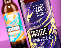 Yeast Side Brewery - Craft beer branding & packaging