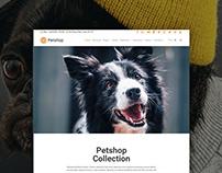 Pets Site Builder - Petshop WordPress Theme