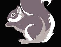 Squirrel Sweatshirt - F/W 2015 Viviane Furrier