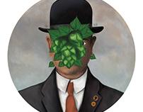 Beergritte - Beer label illustration