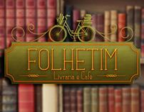 Folhetim . Bookstore Branding