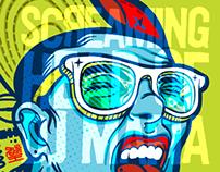 Screaming Head of DJ Mafia