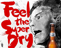 "Asahi ""Release Your Super Dry"" Euro Cup 2016 animation"