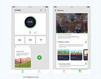 Health-Sport Mobile App UI/UX Design & Concept