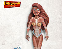 INHUMANA ANATOMY series2 Ariel's anatomy