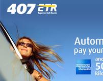 407 ETR Website Redesign