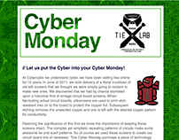 Cyber Monday Email Promotion