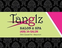 Promotional Items for Tanglz Salon & Spa