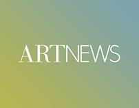 ARTnews Magazine Website